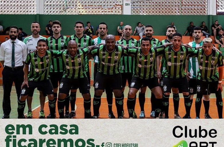 América Futsal renova parceria com Clube Oi Art