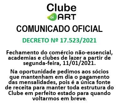 COMUNICADO – Decreto 17.523